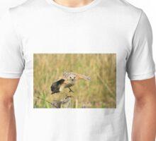 Red Shoulder Hawk Taking Flight T-Shirt