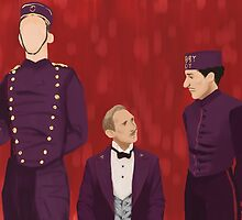 The Grand Budapest Hotel by jennamcc
