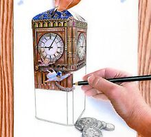 Art or Real - The Money Box by Karen  Hull