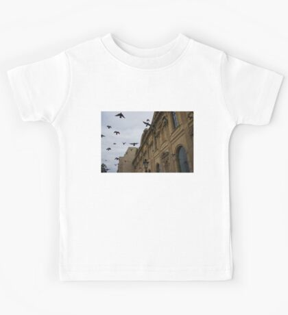 Commotion in the Sky of Paris Kids Tee