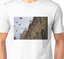 Commotion in the Sky of Paris Unisex T-Shirt