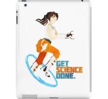 Portal - Get Science Done iPad Case/Skin