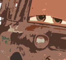 Mater says Hello Sticker