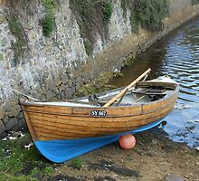 Rionnag Moored in Lews Castle Grounds, Stornoway by Kathryn Jones