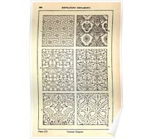 A Handbook Of Ornament With Three Hundred Plates Franz Sales Meyer 1896 0304 Repeating Ornament Various Diaper Poster