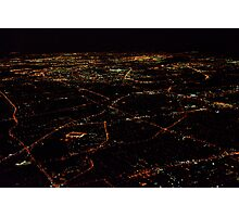 A City at Night Photographic Print
