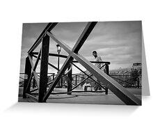 Pont des arts Greeting Card