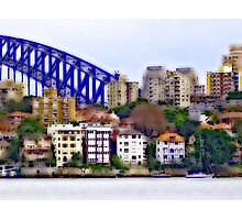 Kirribilli and the Arch Photographic Print