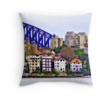 Kirribilli and the Arch Throw Pillow