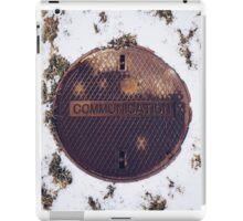 Cold Communication iPad Case/Skin
