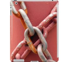 Linked in Pink iPad Case/Skin