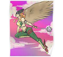 Hawkgirl Poster