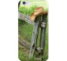 Chapeau de cowboy iPhone Case/Skin
