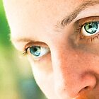big eyes as an accent by Iuliia Dumnova