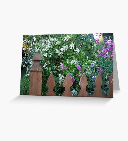A Neighborhood Garden Greeting Card