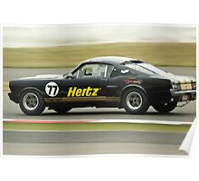 Hertz Rent-a-Racer Poster
