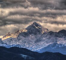 The Triglav, Slovenia by primozomirp