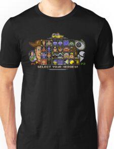 Pixel Animation Fighter Unisex T-Shirt
