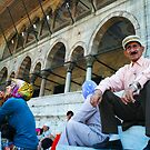 old man and mosk by kennypepermans