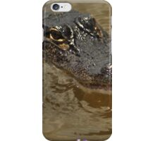 Young Alligator, As Is iPhone Case/Skin