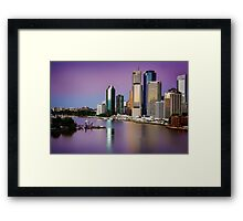 Pink Dawn... Framed Print