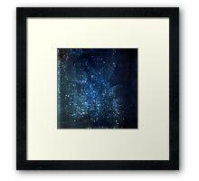 starry sky Framed Print