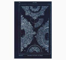 A Handbook Of Ornament With Three Hundred Plates Franz Sales Meyer 1896 0492 Frames Strap Work Border Margin Inverted Kids Tee