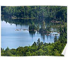 Jordan Pond - Acadia National Park, Maine Poster