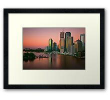 River Dawn.... Framed Print