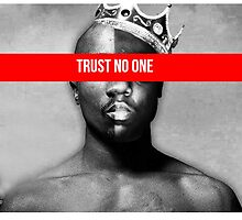 "Tupac and Biggie ""Trust No One"" Supreme by VisionaryCS"