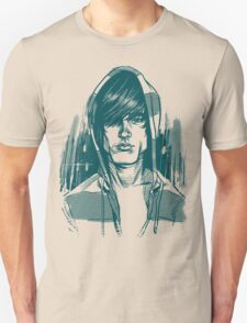 Striped Hoodie Unisex T-Shirt