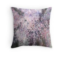 The droop cherry blossoms...「youen」 Throw Pillow