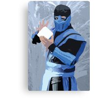 Sub Zero Cutout Canvas Print