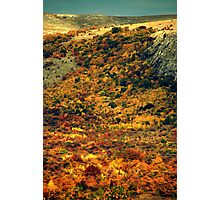 Autumn in the Mountains Photographic Print