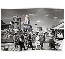 Fun on Brighton Pier Poster