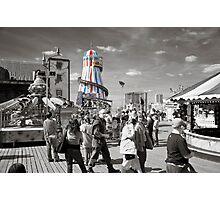 Fun on Brighton Pier Photographic Print