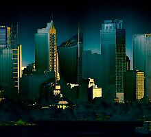 Eastern City Skyline - Sydney CBD by Neil Ross