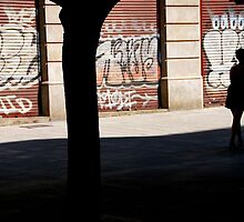 Barcelona - Sunday closed. by Jean-Luc Rollier