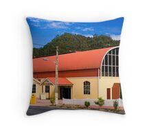 Queenstown Train Station, Tasmania Throw Pillow