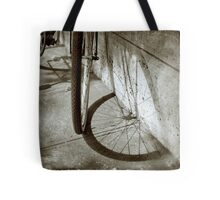 Wheel shadow Tote Bag