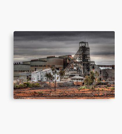Mining Landscape Canvas Print