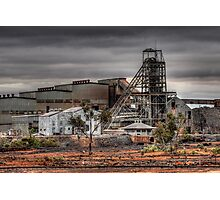 Mining Landscape Photographic Print