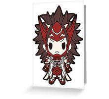 Fire Emblem Fates: Ryoma Chibi Greeting Card