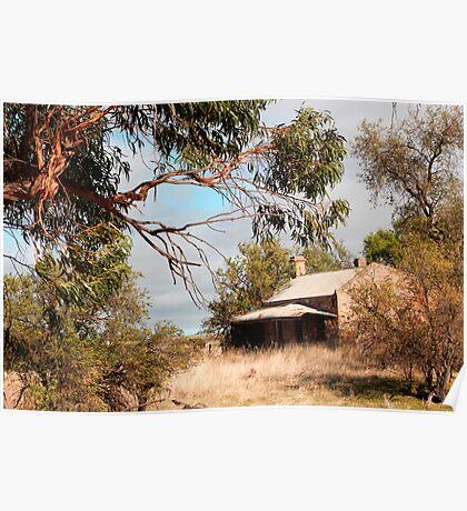 Australian Heritage Cottage Poster