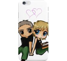 Stargate SG-1 - Sam Carter & Jack O'Neill - Fishing iPhone Case/Skin