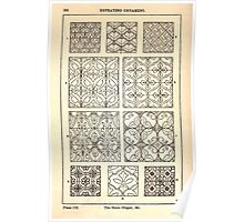 A Handbook Of Ornament With Three Hundred Plates Franz Sales Meyer 1896 0298 Repeating Ornament Scale Diaper Poster