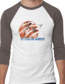 Scarred Sunset Men's Baseball ¾ T-Shirt