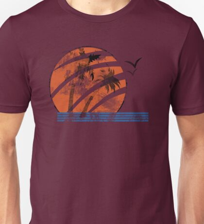 Scarred Sunset Unisex T-Shirt