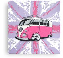 British Splitty 01 Painting Canvas Print