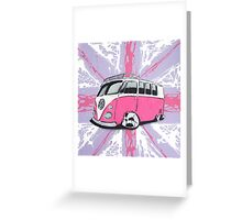 British Splitty 01 Painting Greeting Card